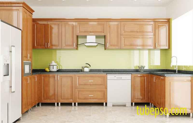 Tủ bếp gỗ Dổi - đặc tính ổn định và hiệu quả cao